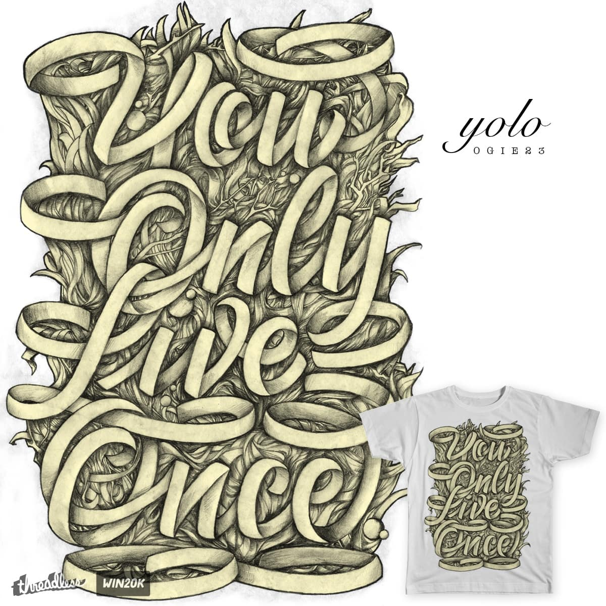 YOLO by RGRLV on Threadless