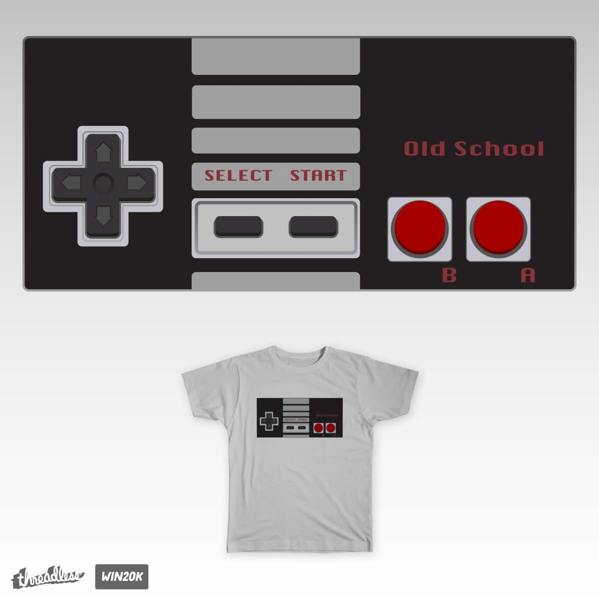 Old School by fuzzbug on Threadless