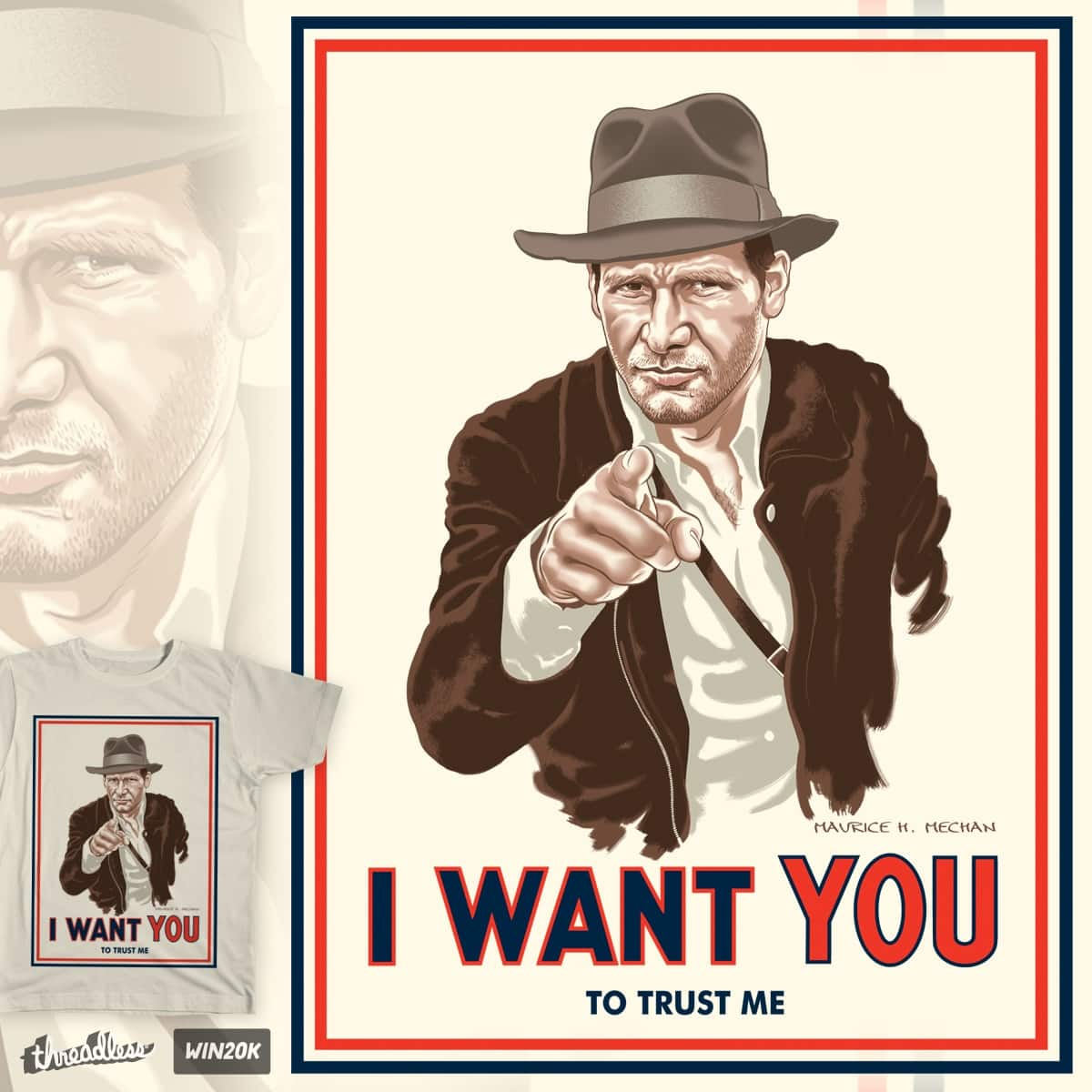 INDY WANTS YOU by Momech on Threadless