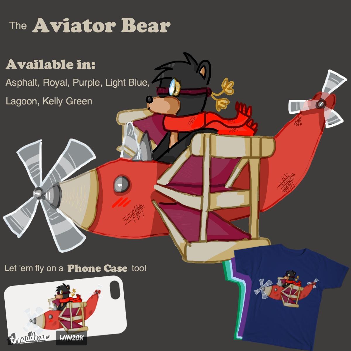 Aviator Bear by jairart on Threadless