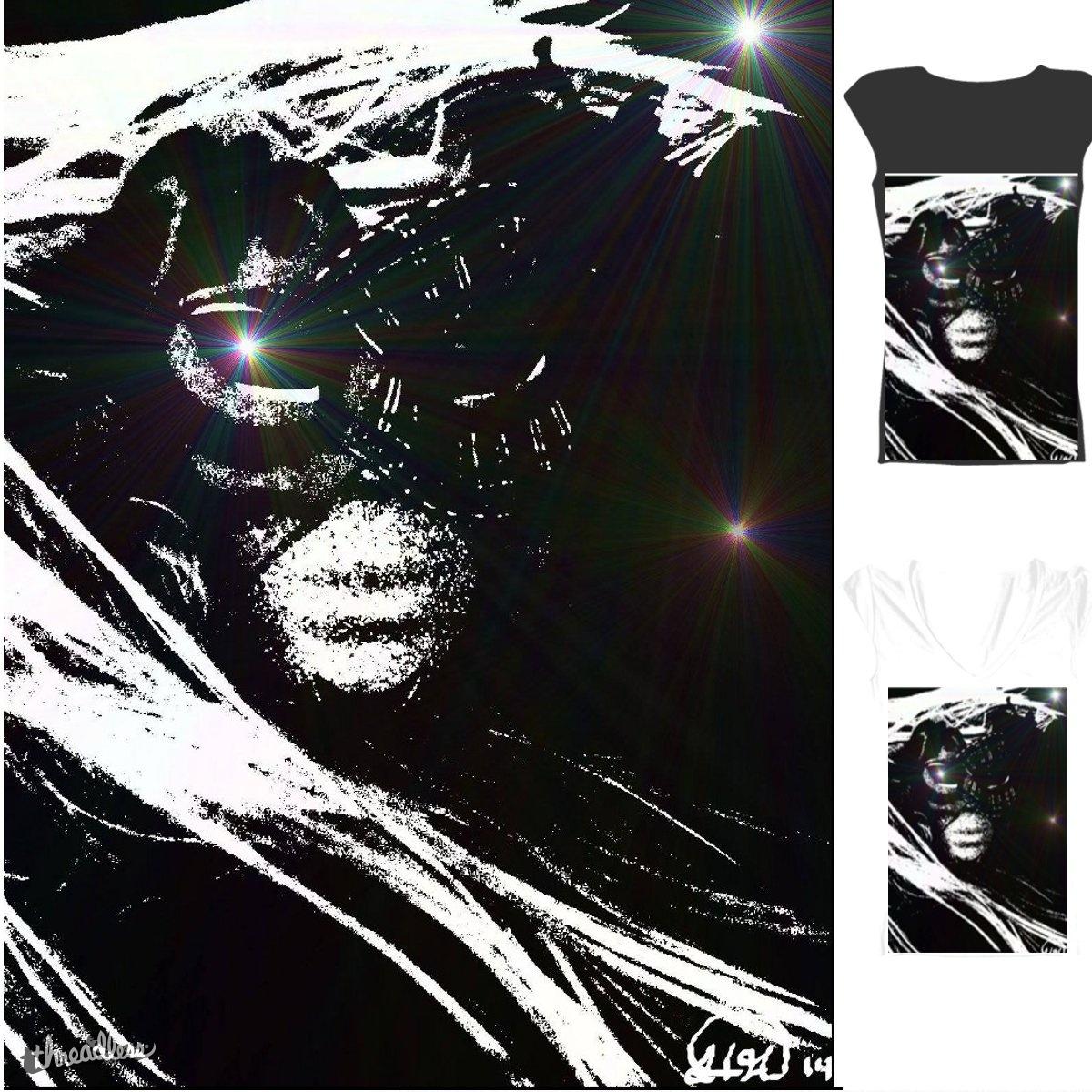 The Cosmic Mask by fleasonkitty on Threadless