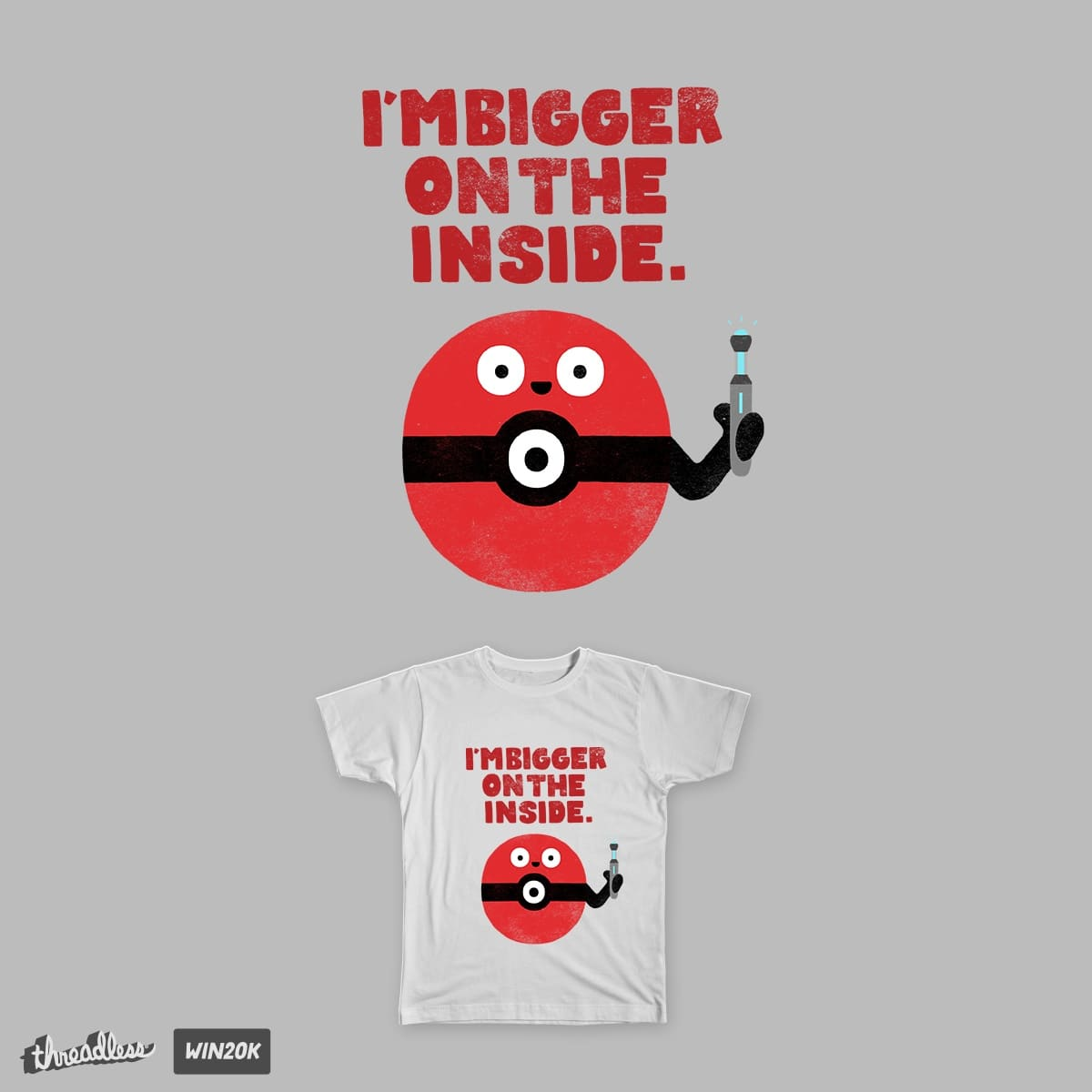 Bigger On The Inside by soursopp on Threadless