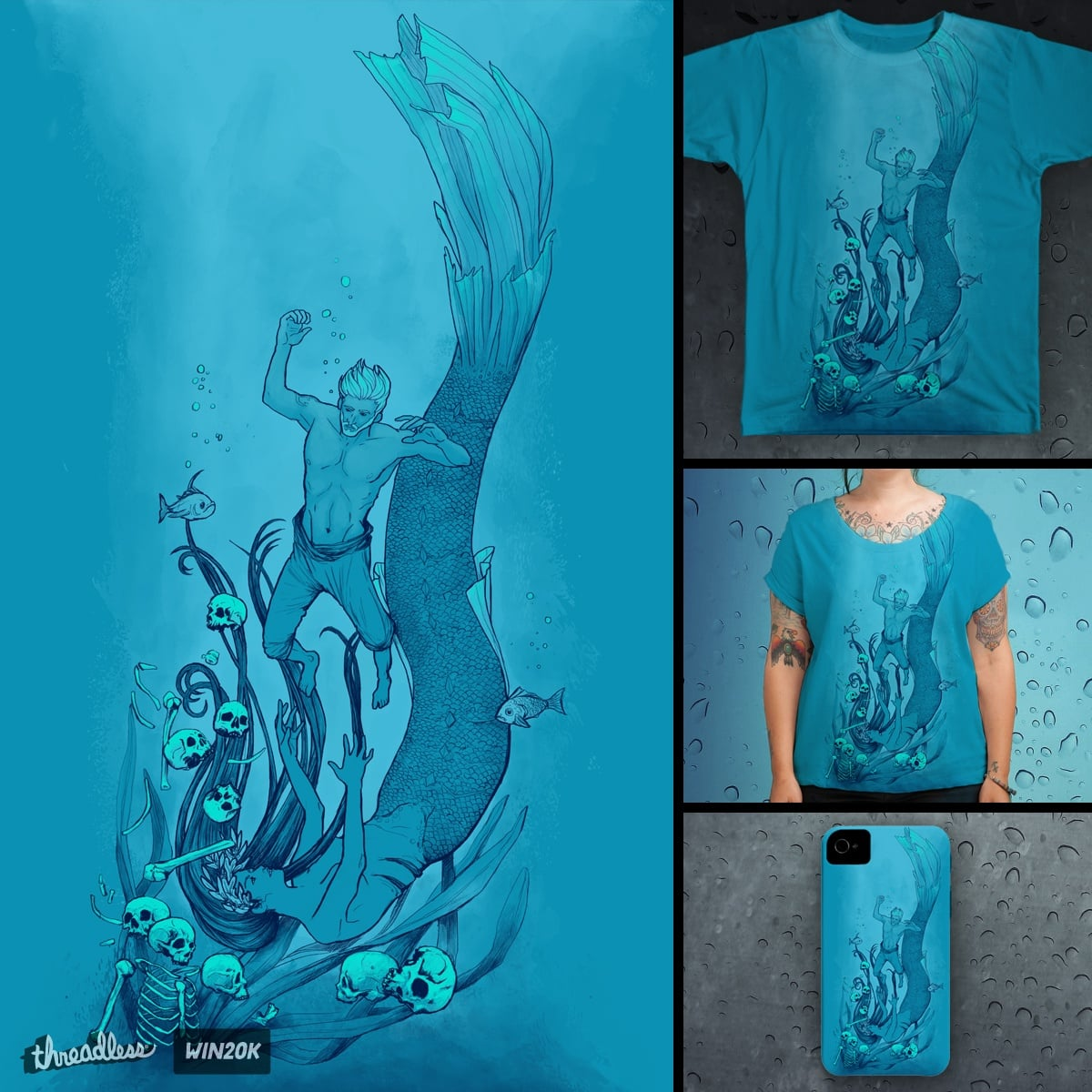 Into the Depths by madarivian on Threadless