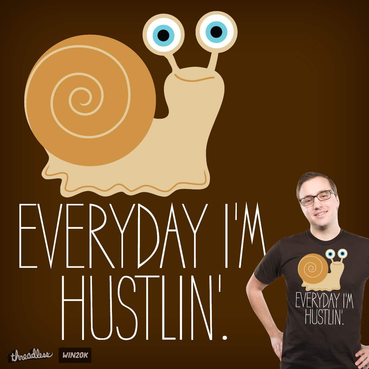 The Hustler by PolySciGuy on Threadless