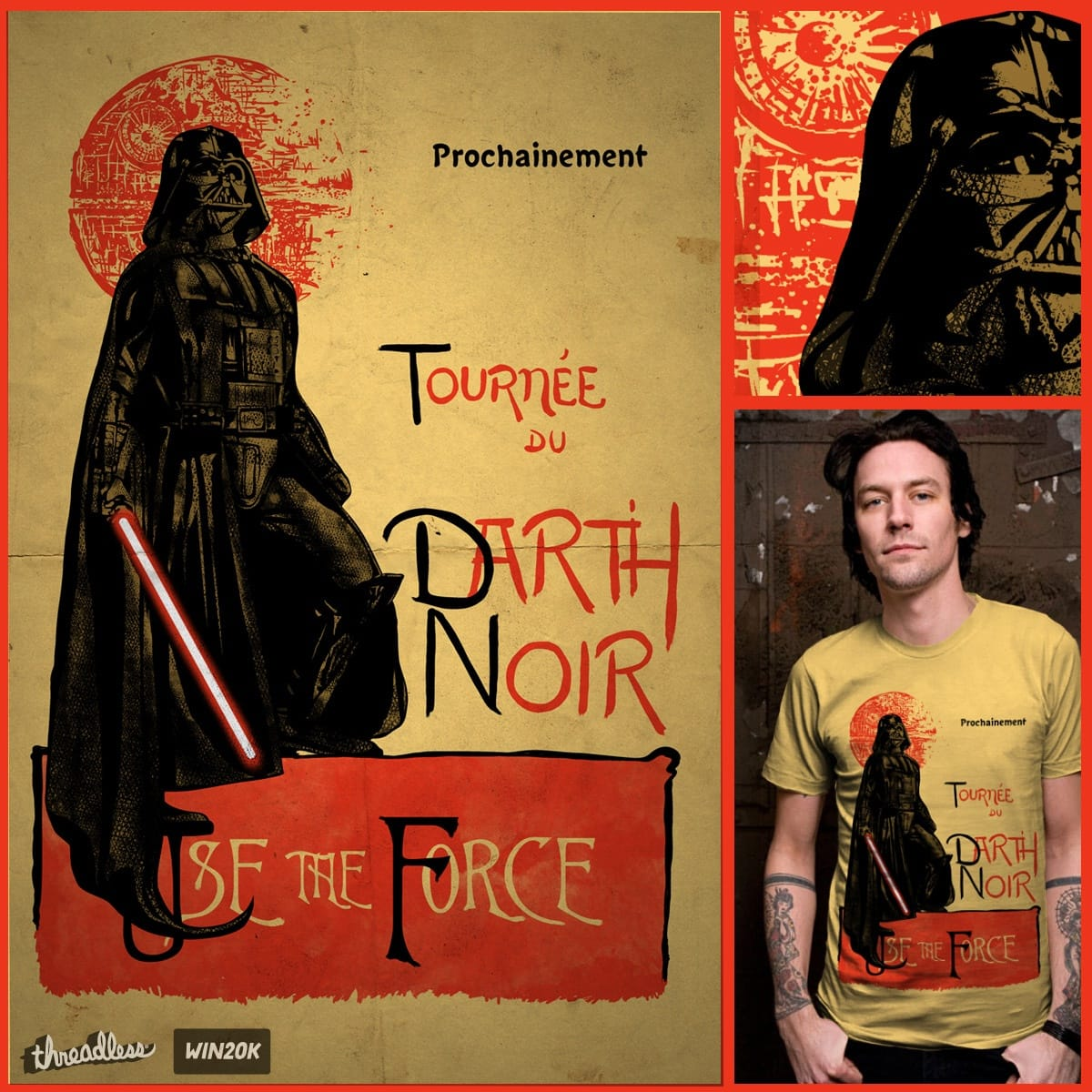 Darth Noir by kooky love on Threadless