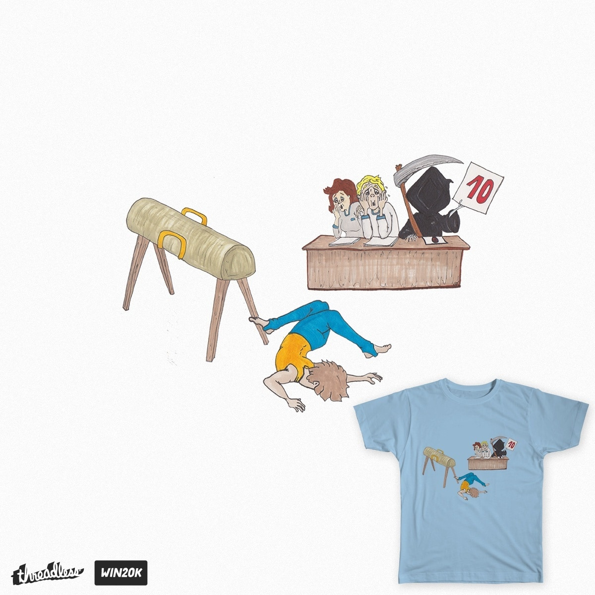 GYMNASTIC SCORE by zutaljeh on Threadless