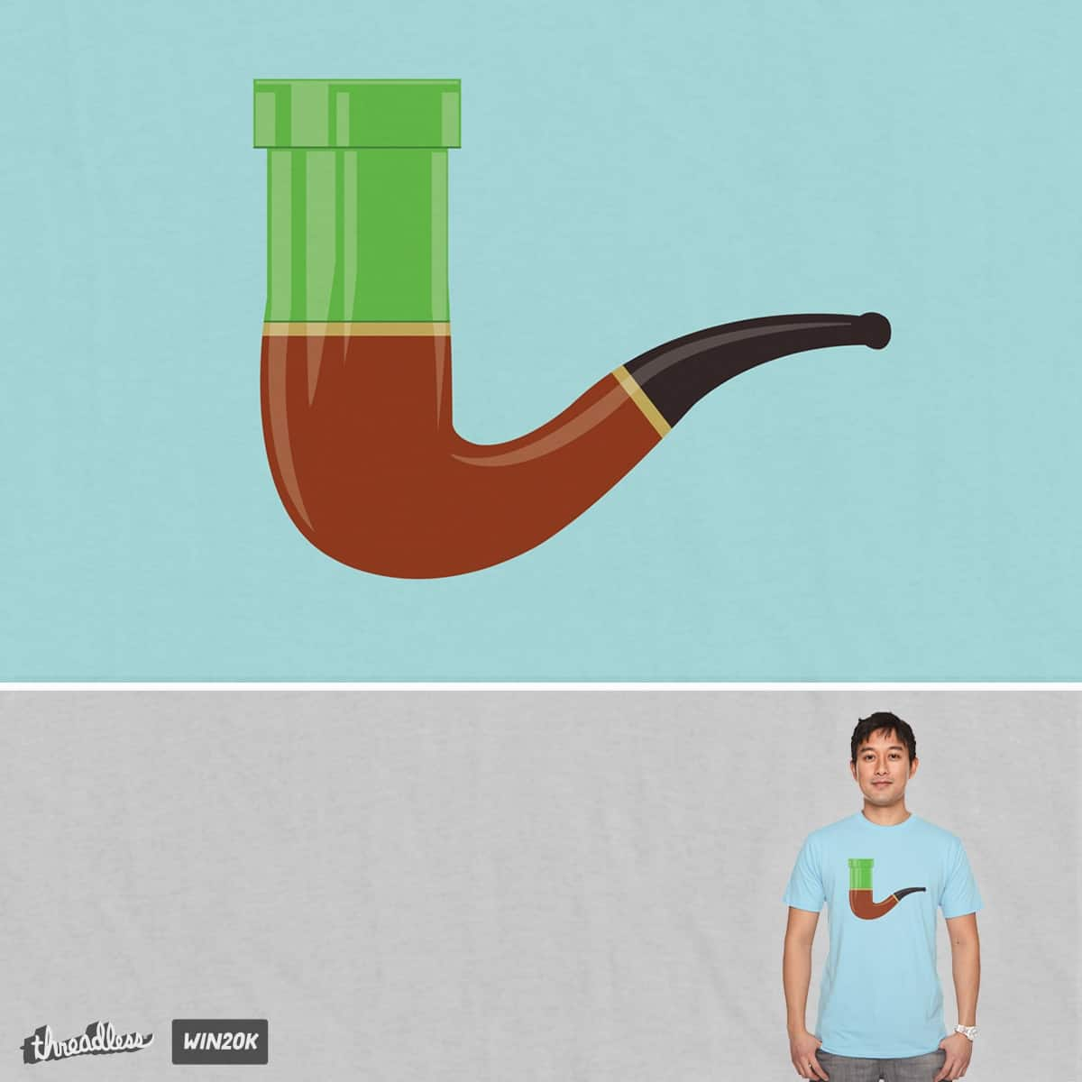 This is not a Warp Pipe by cartooner on Threadless