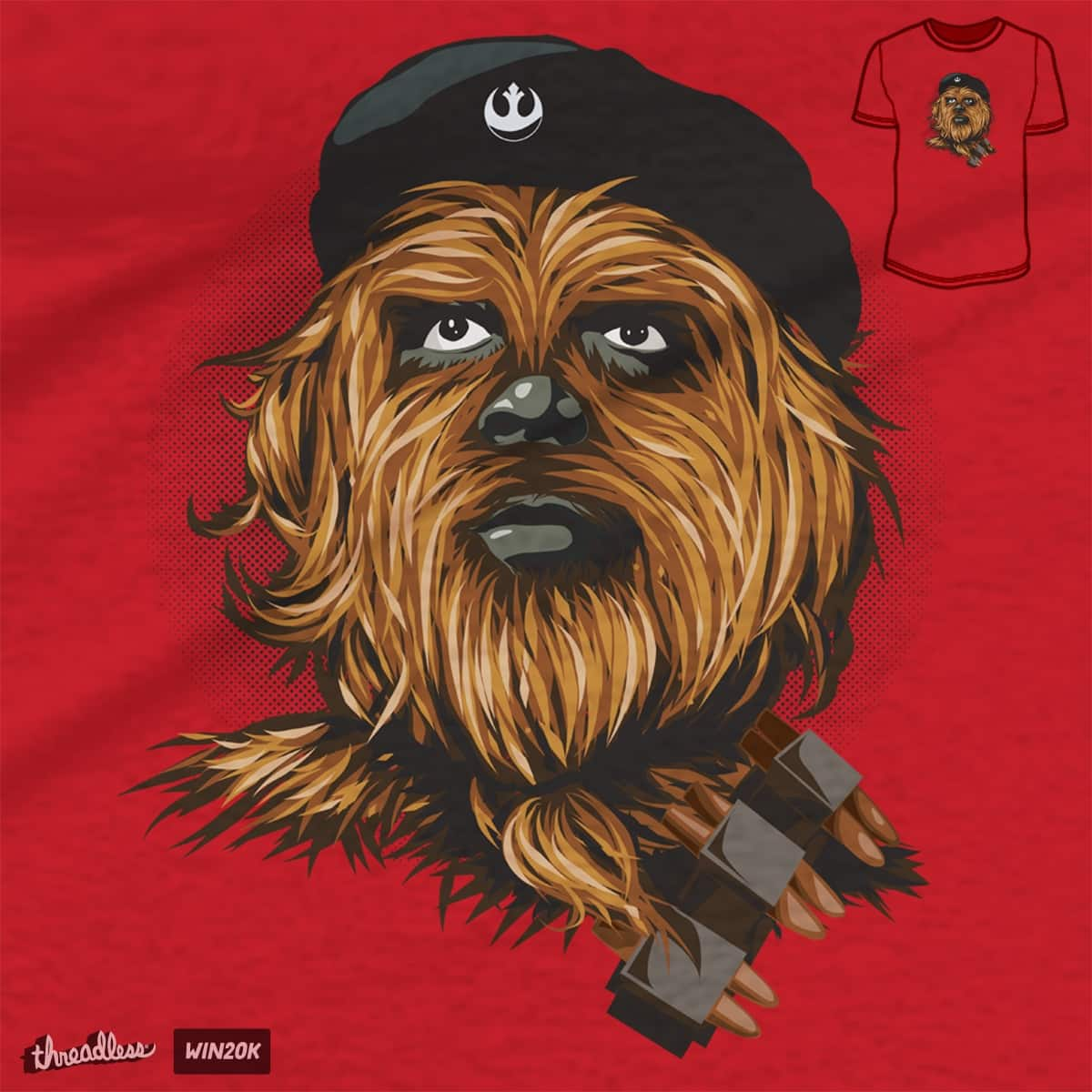 Chewie Guevara by yobann on Threadless
