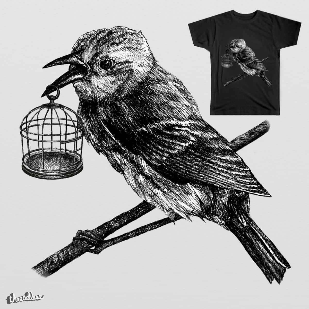 Birdless Cage by est133 on Threadless