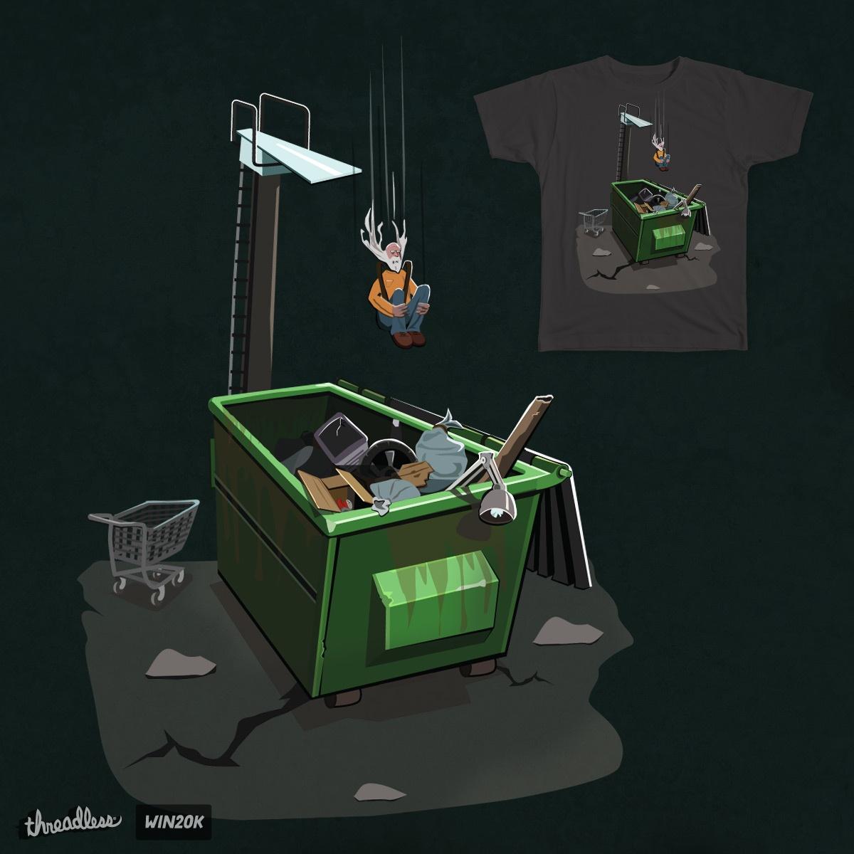 Dumpster Diving V.2 by Sketchulator on Threadless