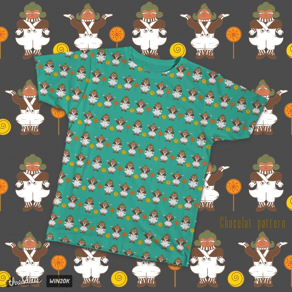 Chocolat pattern by LiliOstrovsky on Threadless