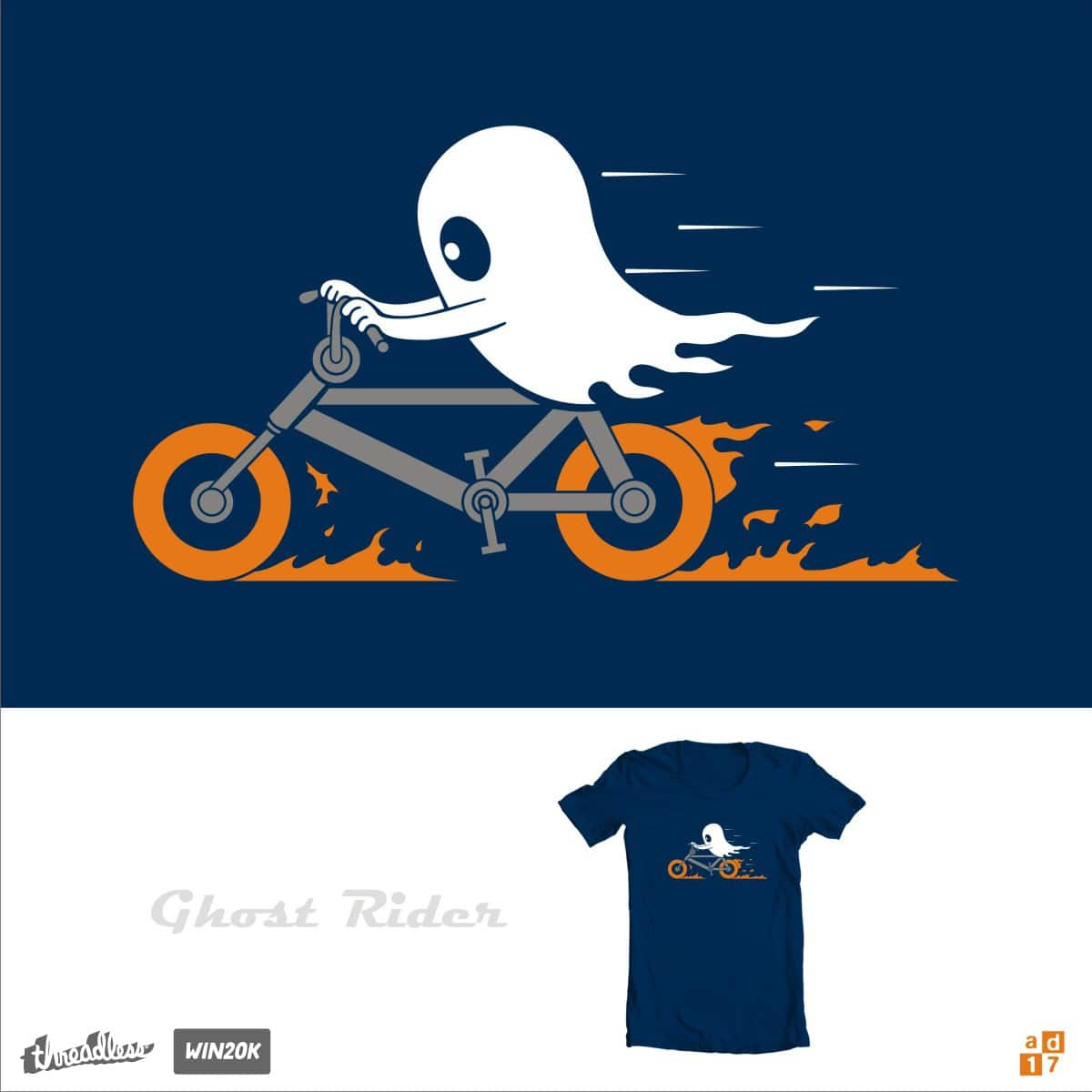 ghost rider by a.d.17 on Threadless