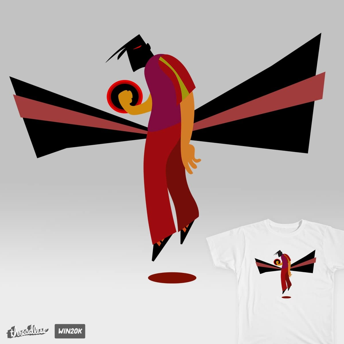 Heroes by thelooner on Threadless