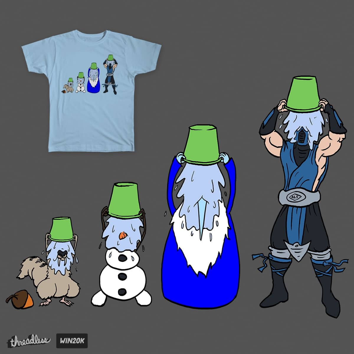Cold Shower by Mantichore on Threadless