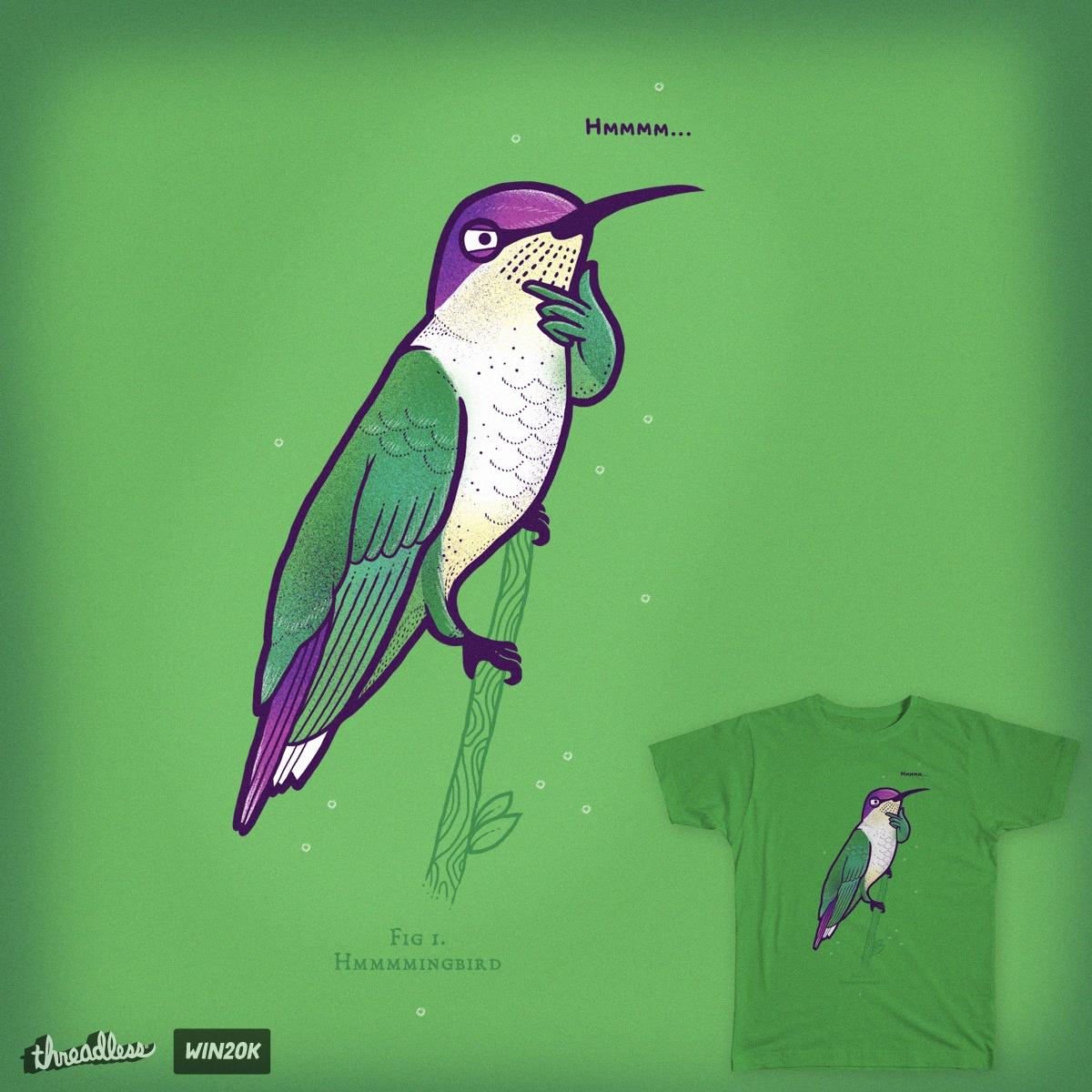 Hmmmingbird by randyotter3000 on Threadless