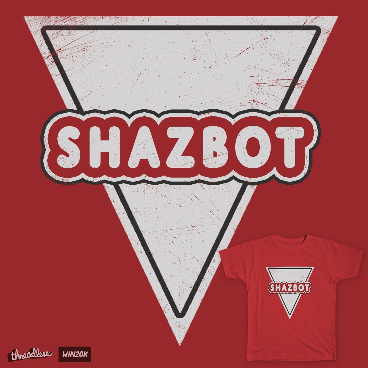 SHAZBOT by TRYBYK on Threadless