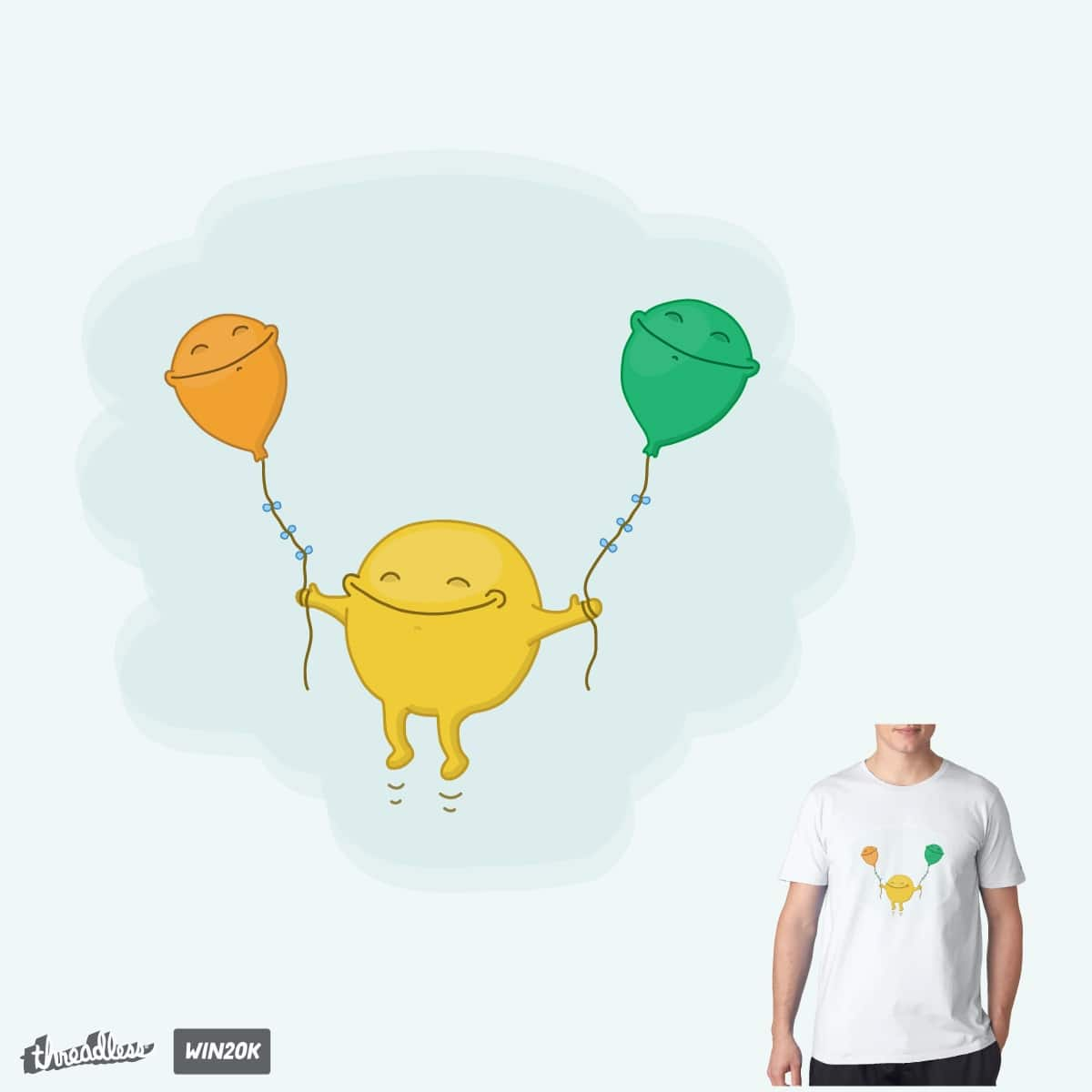 Happiness by caldow on Threadless