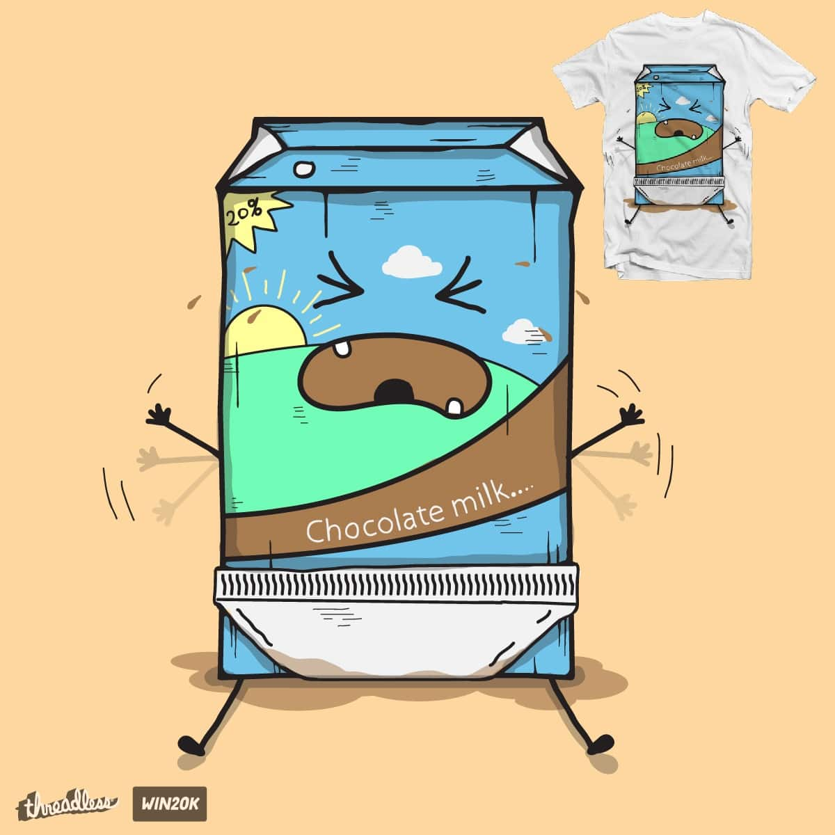 cow's milk by BacteriArt on Threadless