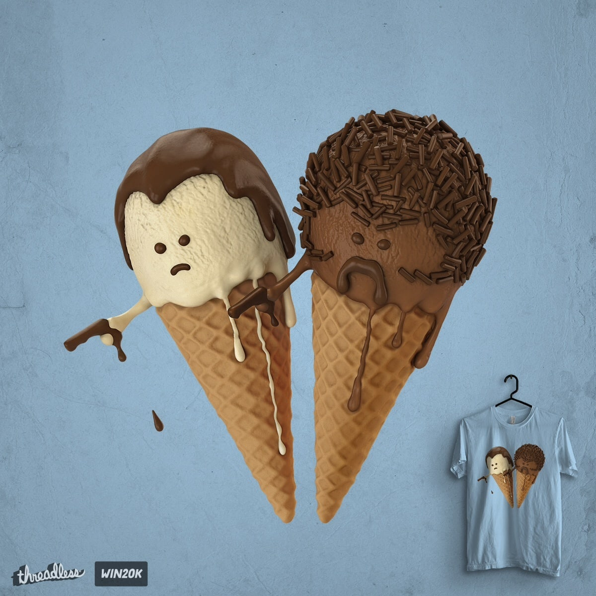 Le Ice Cream by idilek on Threadless