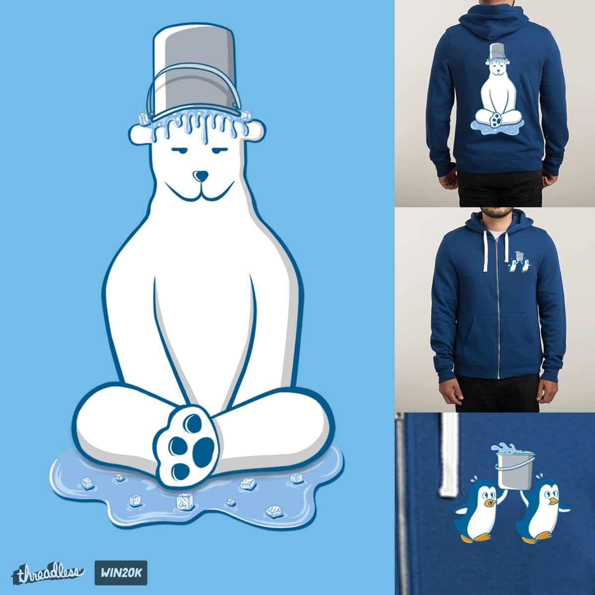IT'S FREEZING... by farlyfs on Threadless