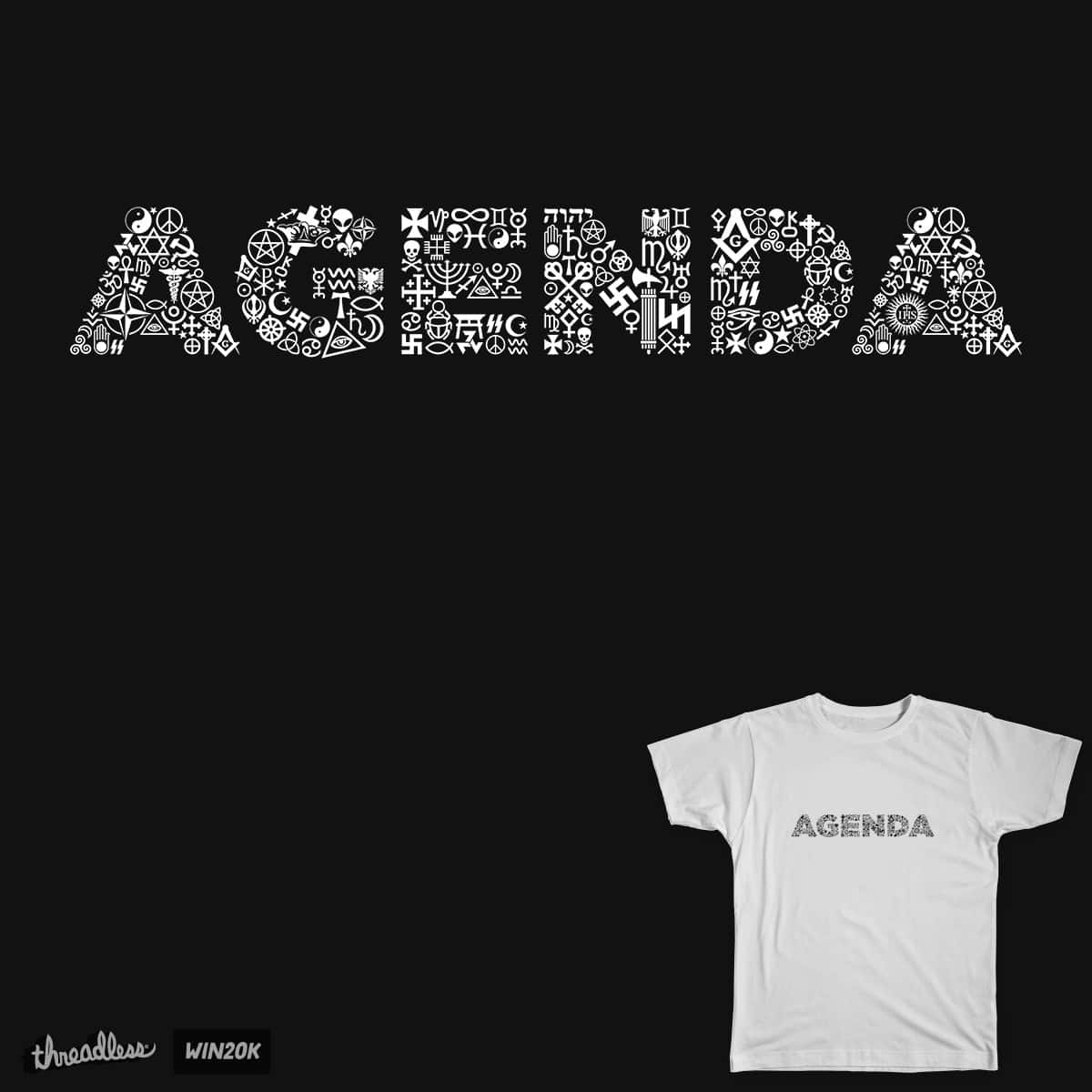 Occult Agenda T-shirt by spaghettiarts on Threadless