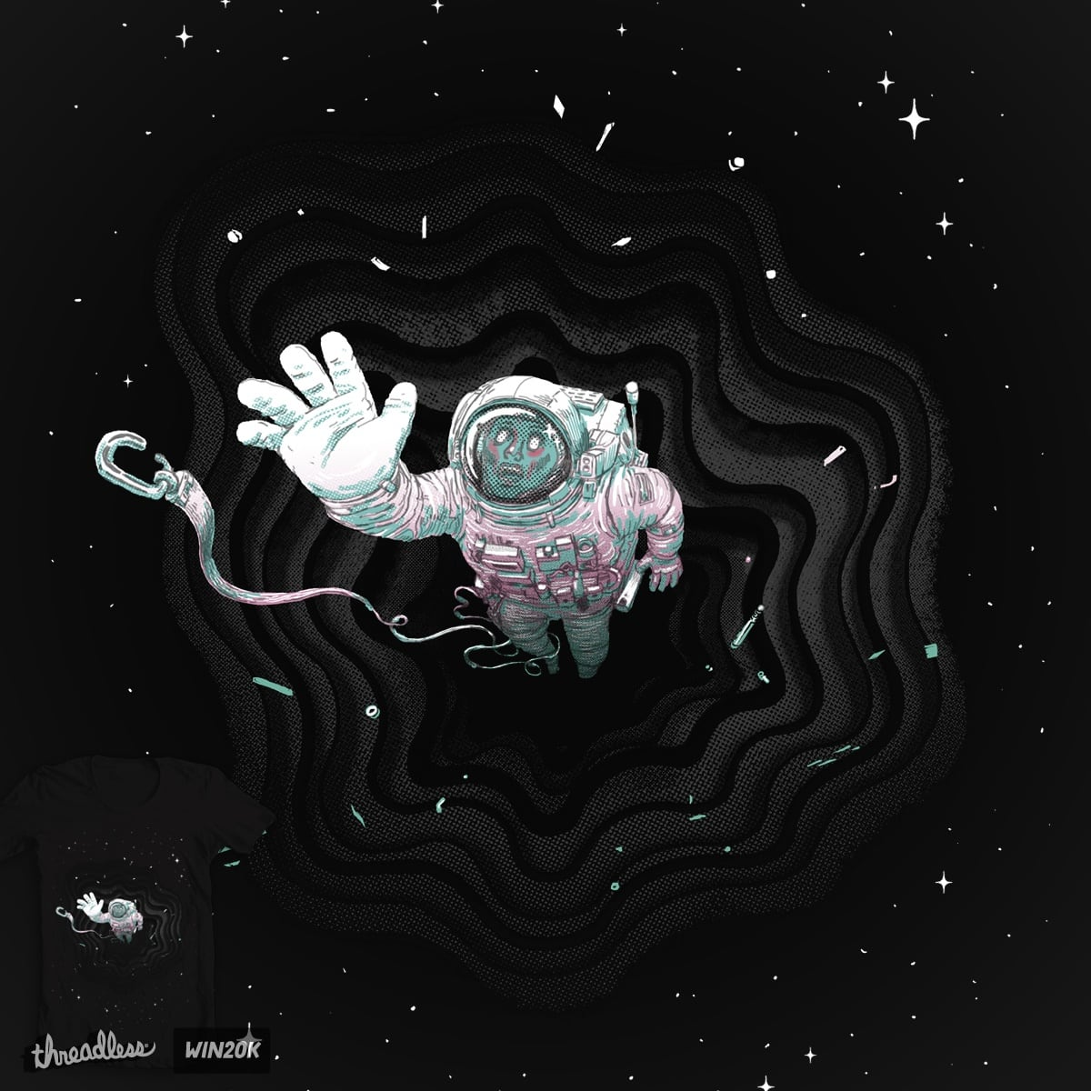 Black hole by c-royal on Threadless