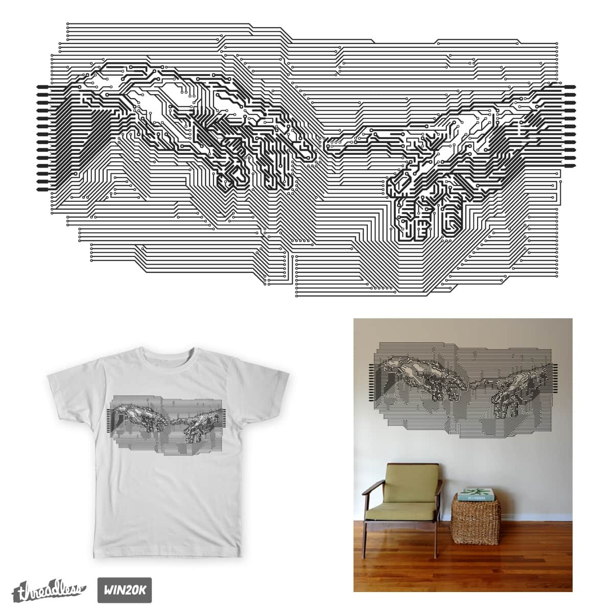 digital age by bulo on Threadless