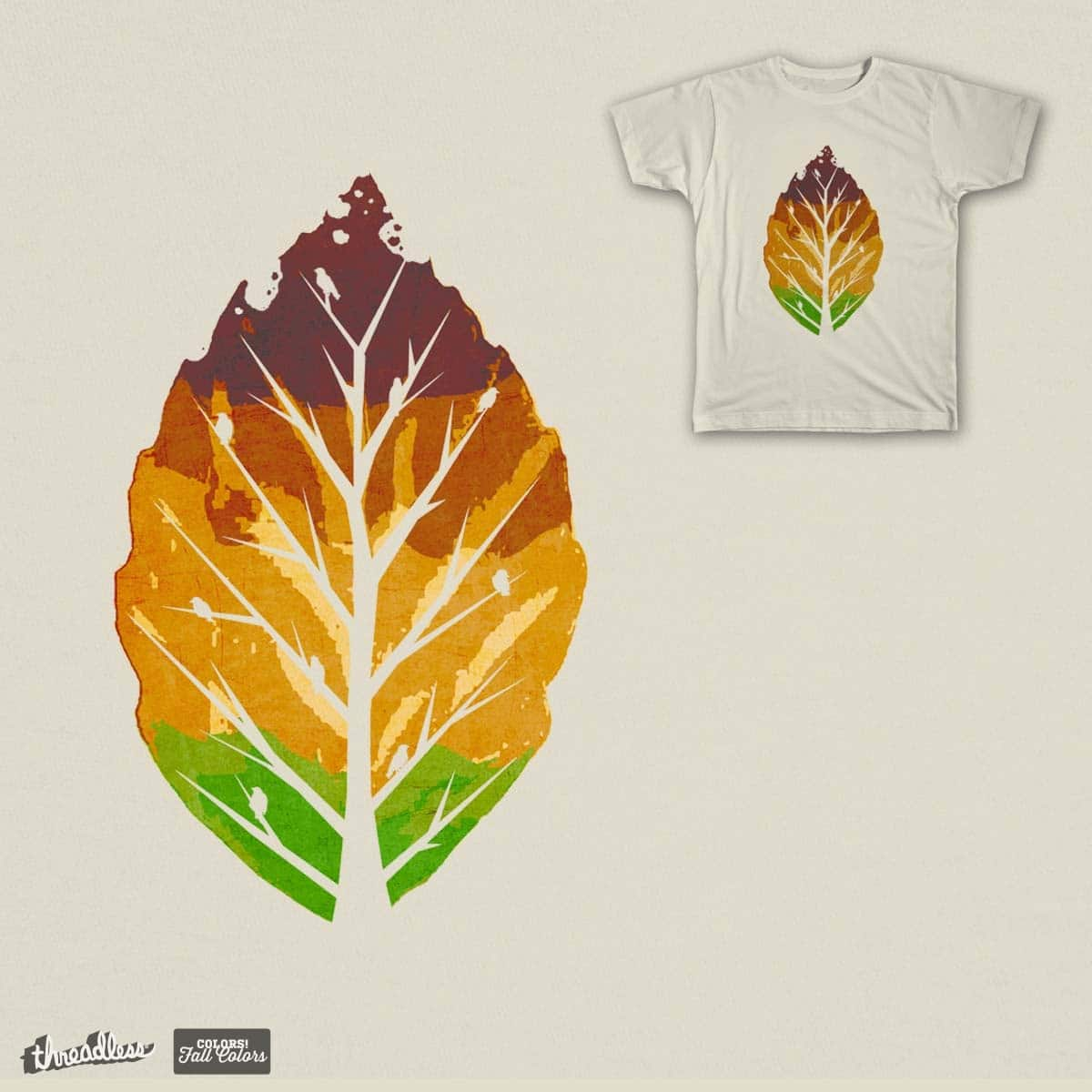 Leaf Cycle by Leo Canham on Threadless