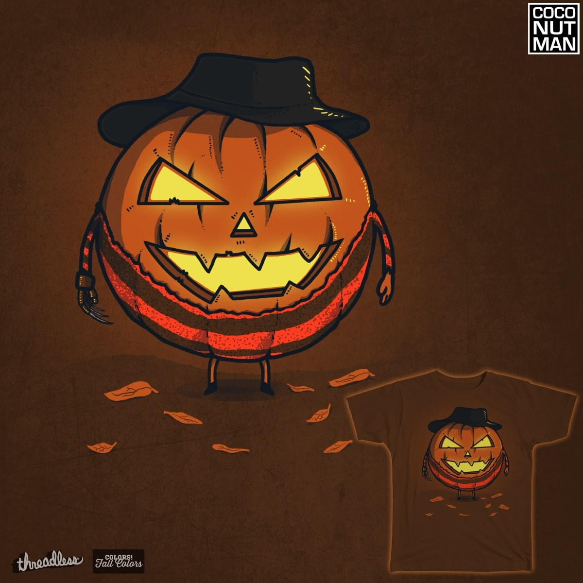 A Nightmare on Halloween by coconutman on Threadless