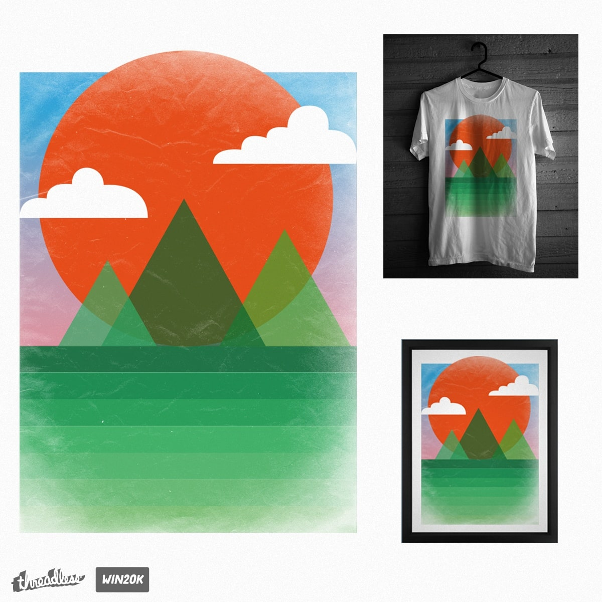 In the Valley by ammooina on Threadless