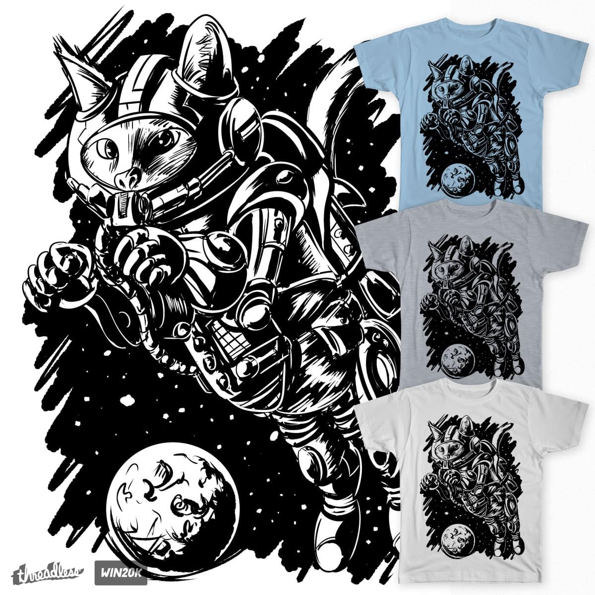 Cosmo-Cat by ROCOM on Threadless