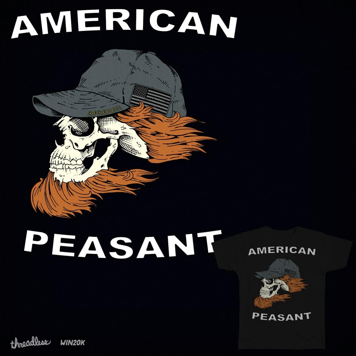 American Peasant  by hassified on Threadless