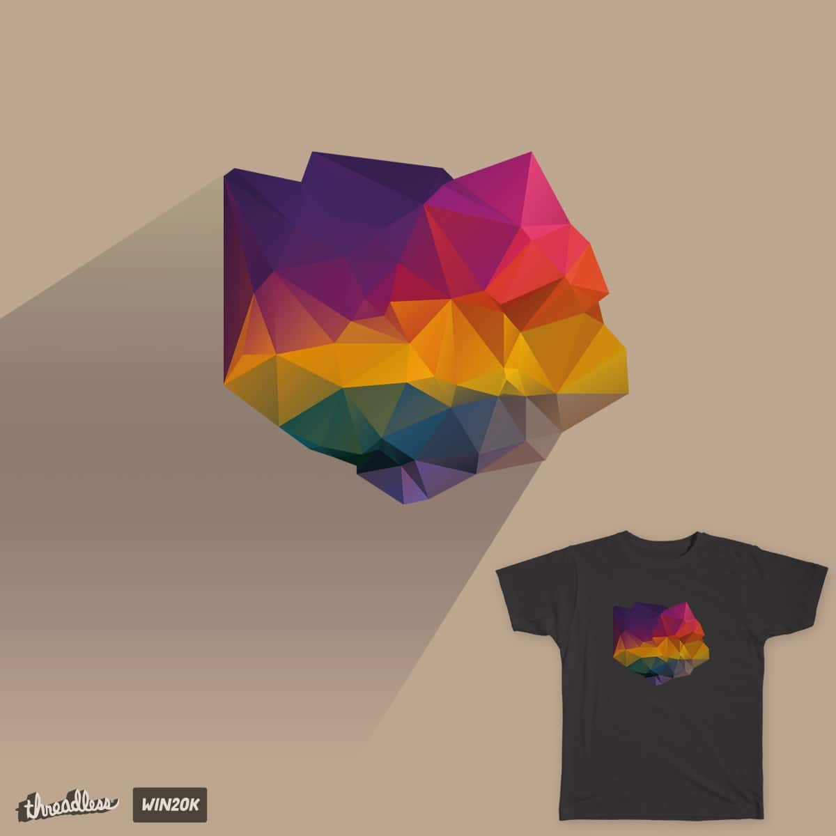 Creatively facetted by Marcusvg on Threadless