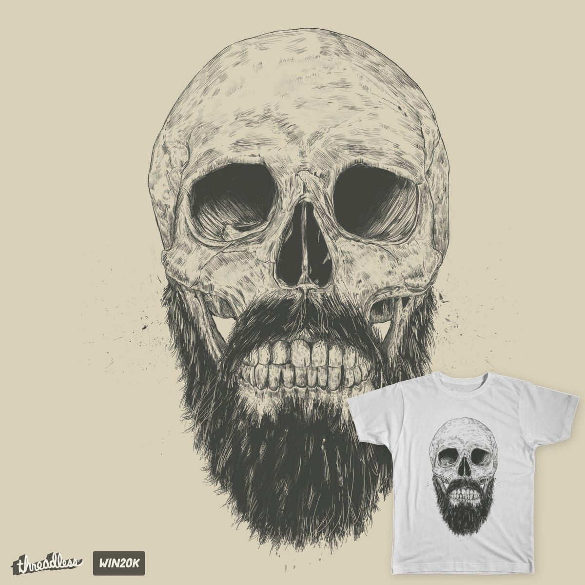 The beard is not dead by soltib on Threadless