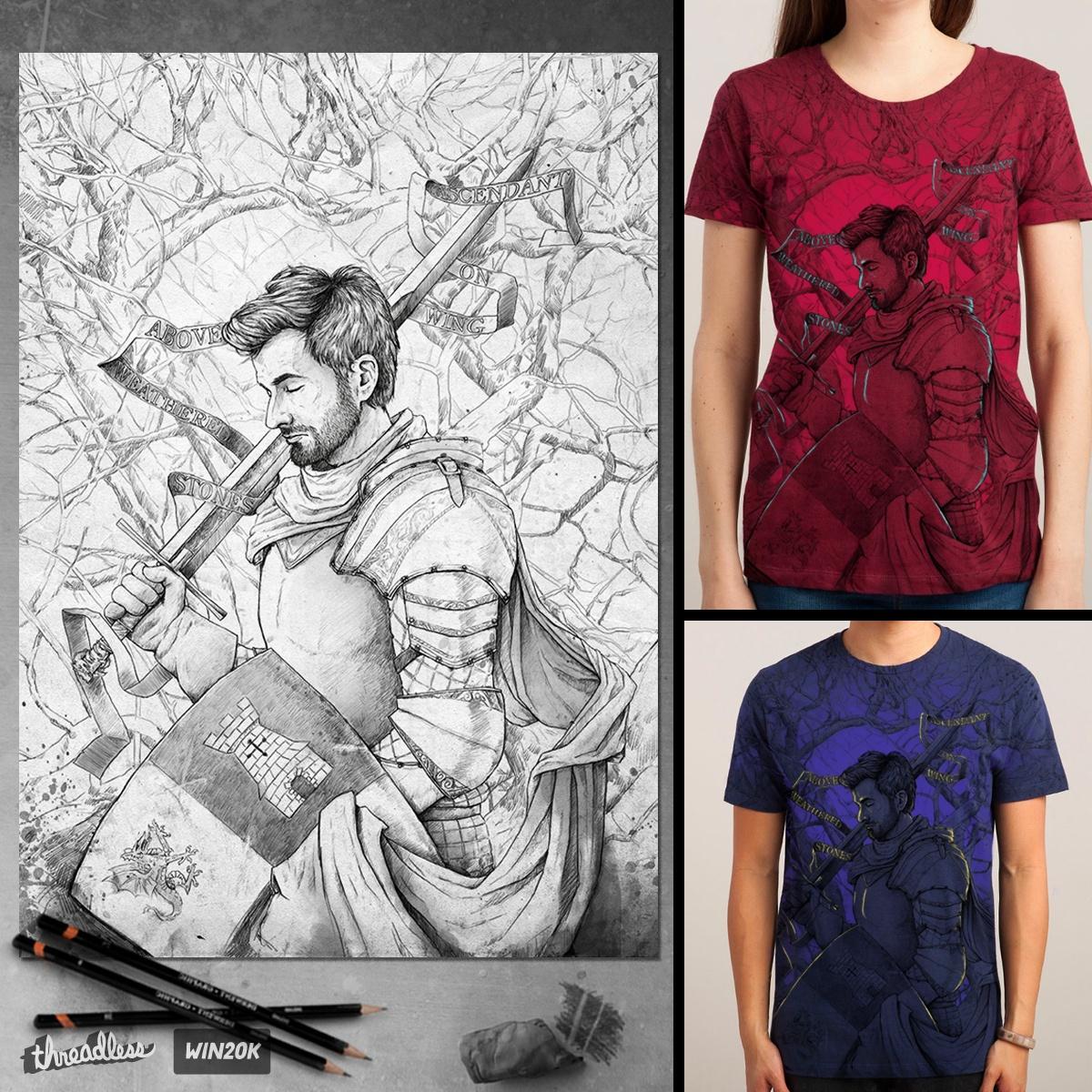The Knight by madarivian on Threadless