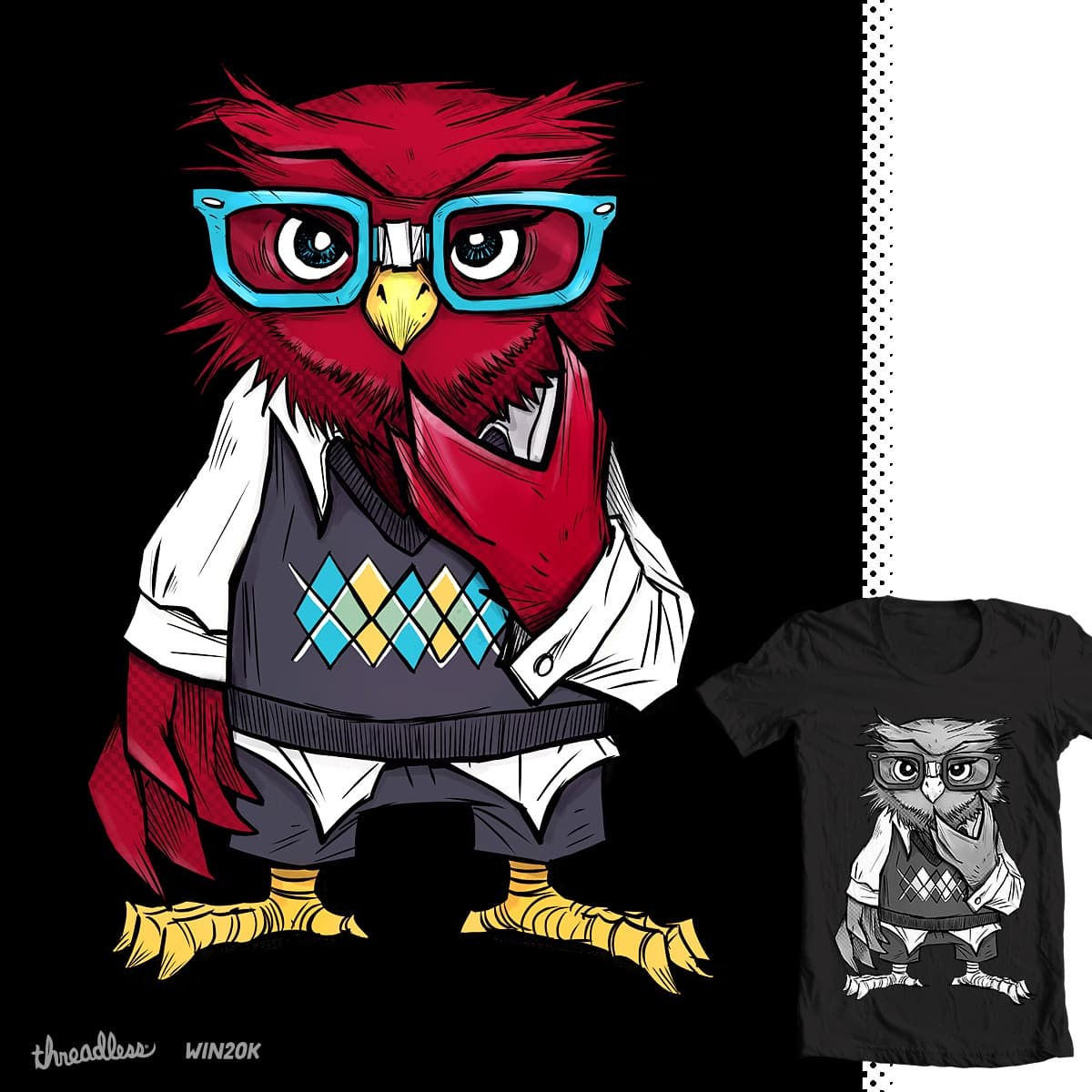 Nerd is the new Cool by BlancaJP and greyzenz on Threadless