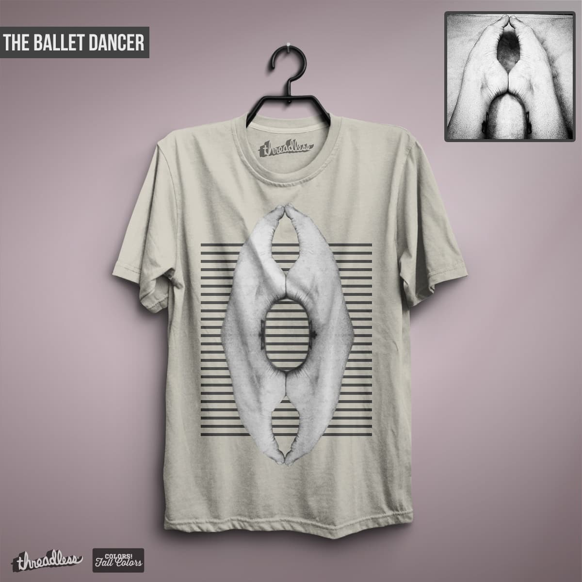 The Ballet Dancer by milios.thanasis on Threadless