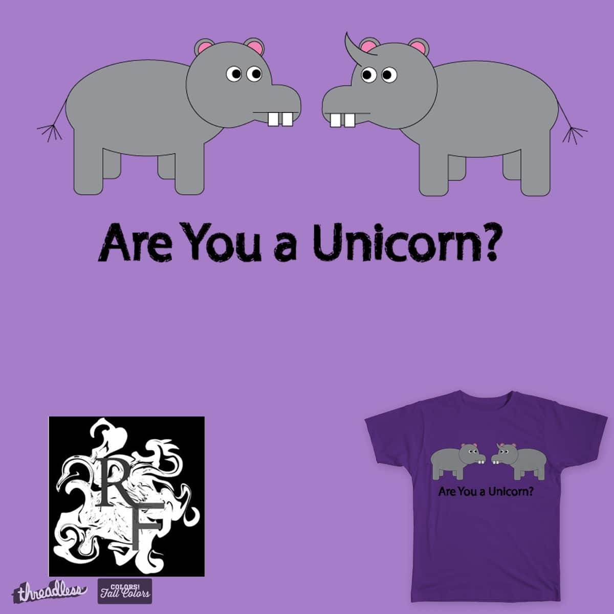 Are You a Unicorn? by RyanFoster on Threadless