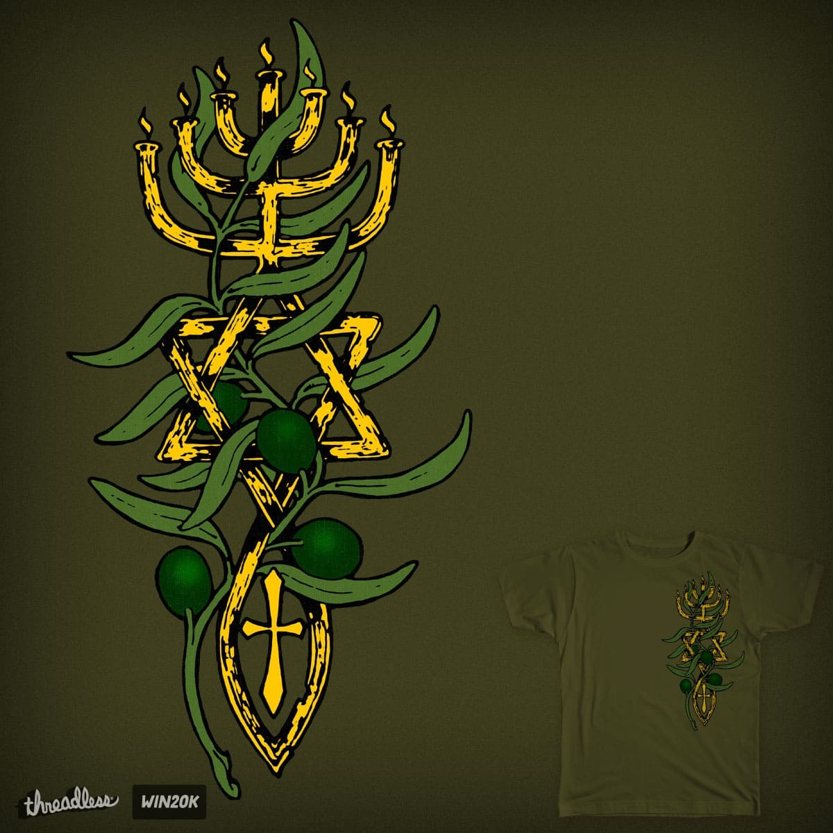 Oil of the Spirit by hassified on Threadless