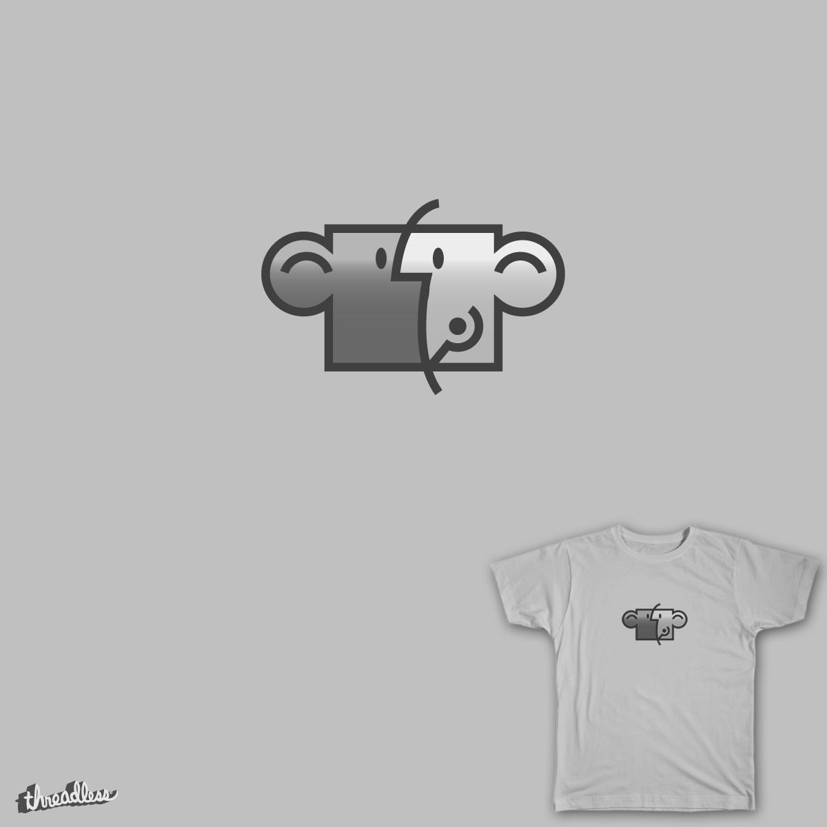 Mac Monkey - working for peanuts by wearefrisky on Threadless