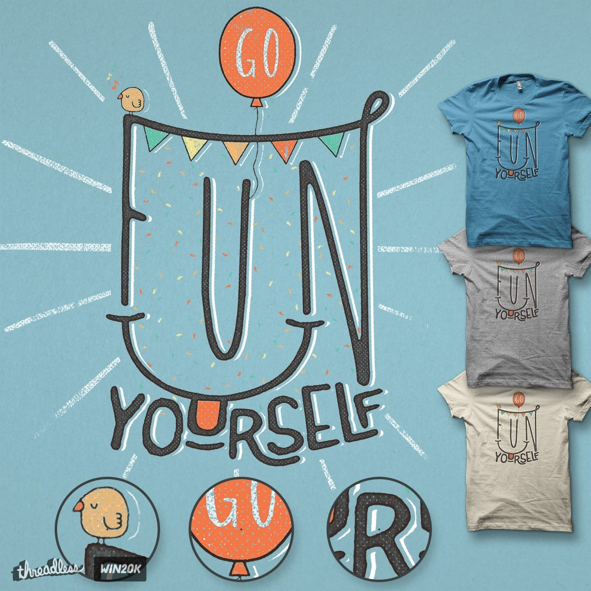 Go fu* yourself ;) by Tompe on Threadless