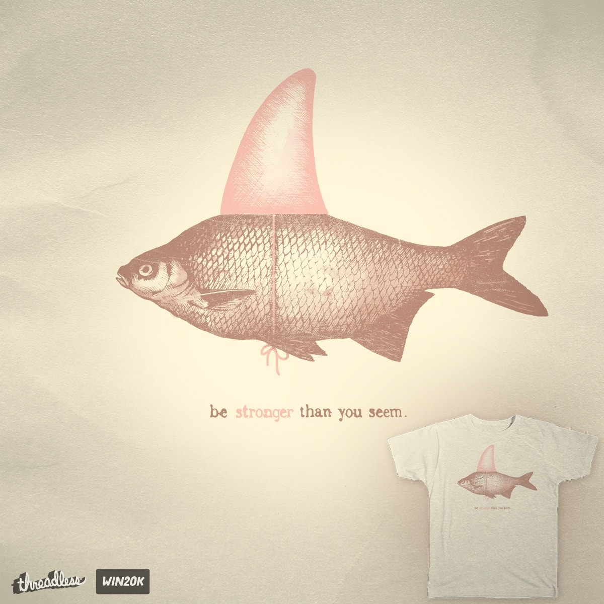 Be stronger than you seem! by Mr.Wayne on Threadless