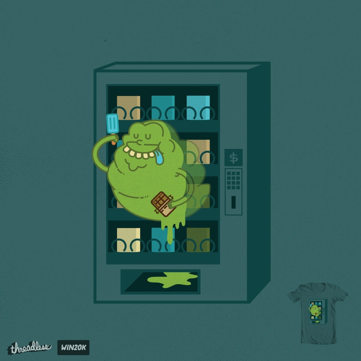 The Ghost in the Machine by ppmid on Threadless