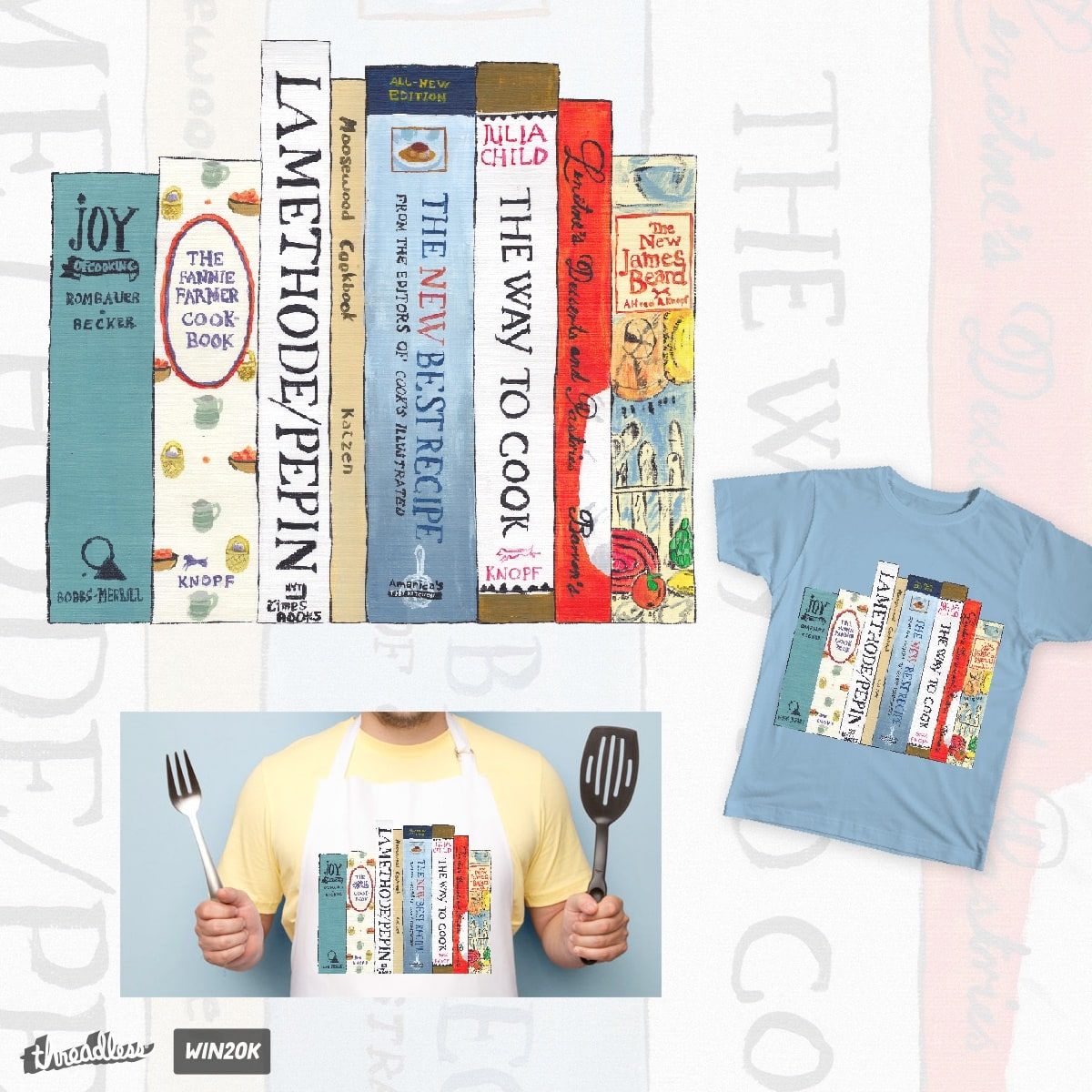 Cooking the Books by ink176 on Threadless