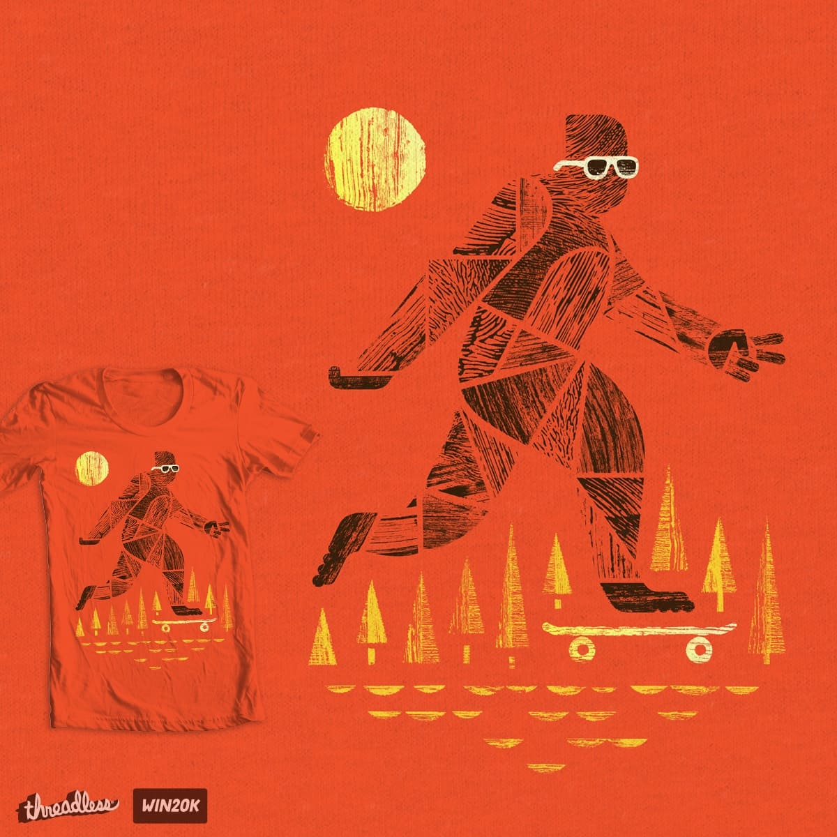 Surefooted by rhinosserossy and wowrainbows on Threadless