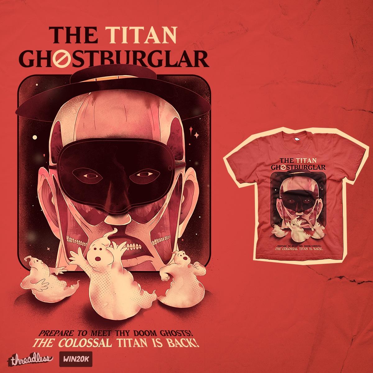 GhostBurglar by choppre on Threadless