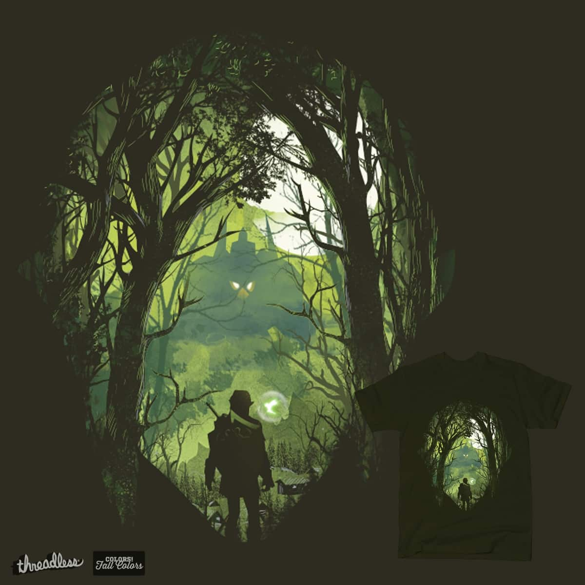 It's dangerous to go alone by dandingeroz on Threadless