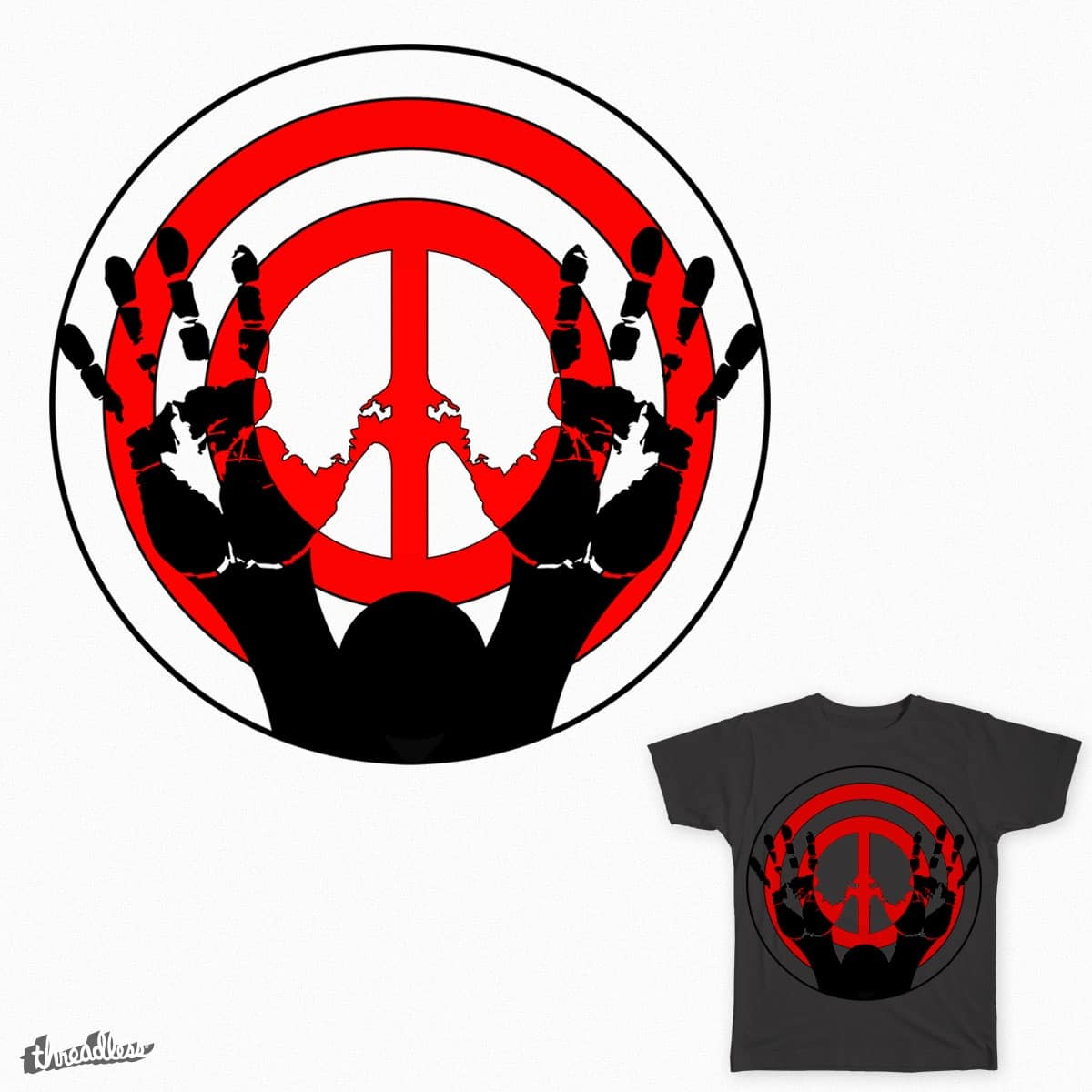 Score Hands Up To Stop Police Brutality By Handsupmovement On Threadless