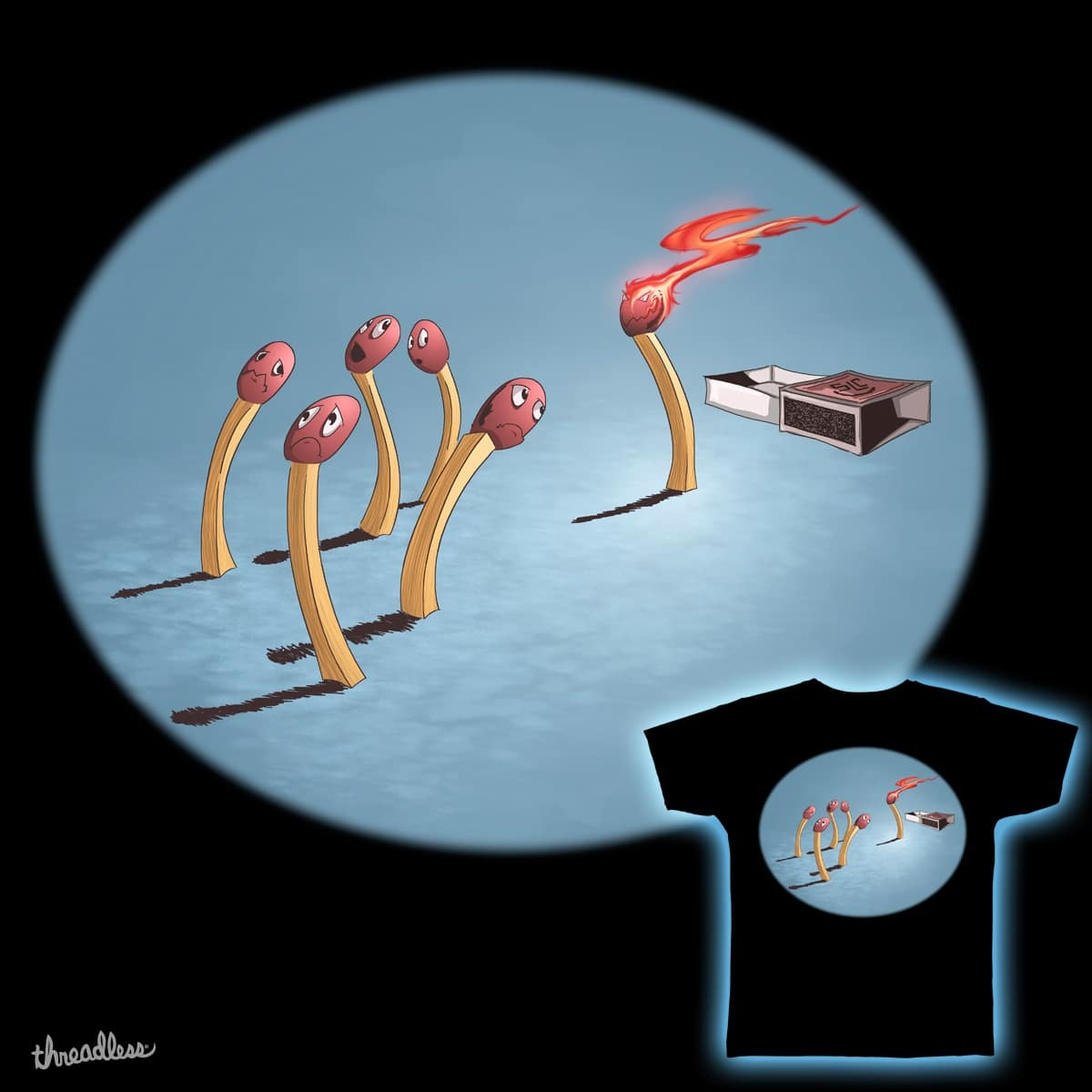 Playing With Fire by mrpsycho_slc on Threadless