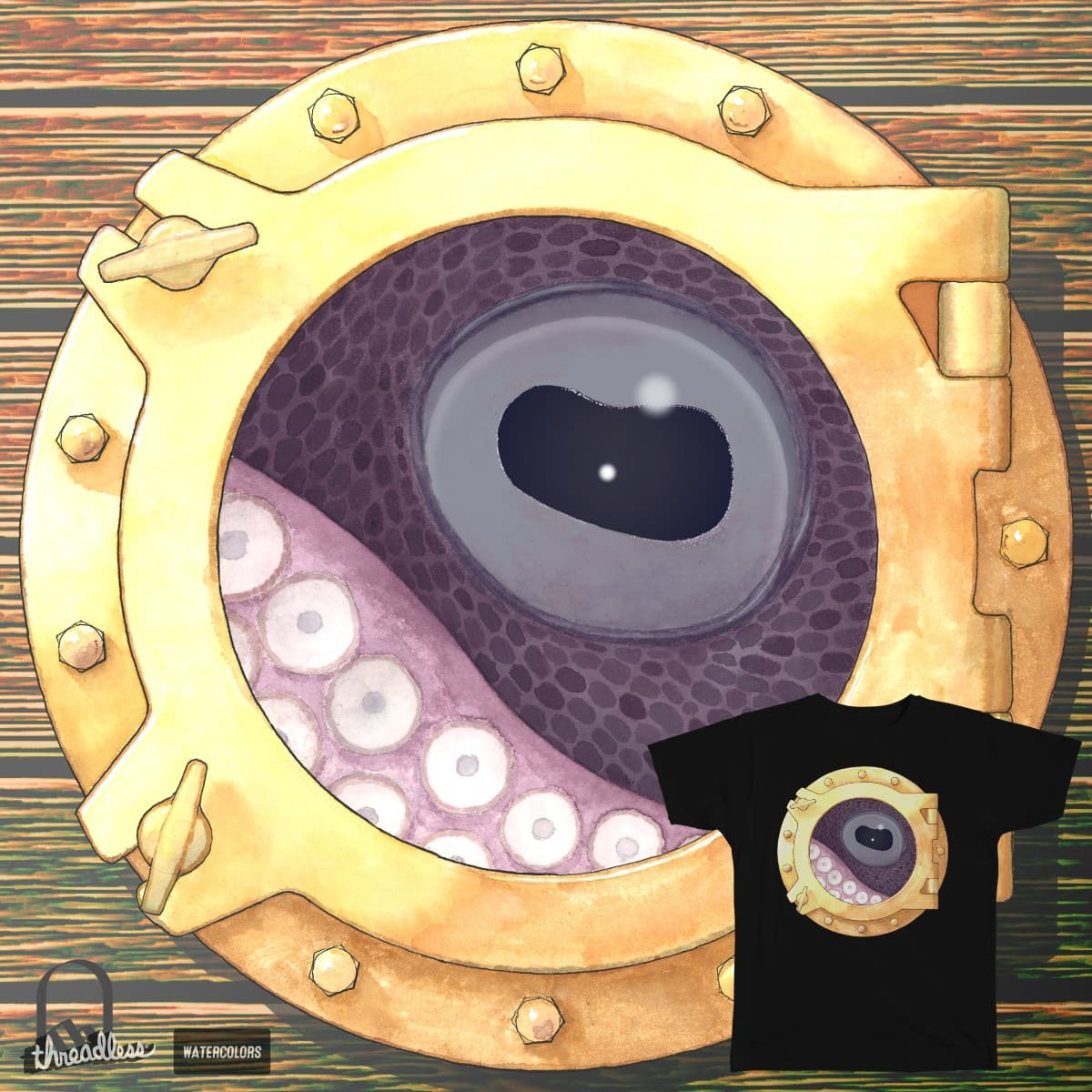 Looking through the Porthole by Sengkelat on Threadless